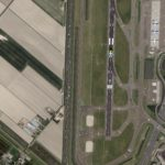 Kompsat-3A image of 13-May-2016 of Amsterdam airport, the Netherlands